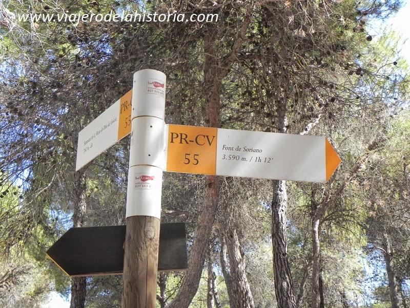 imagen dirección Font de Soriano, Biar, Alicante