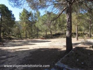 imagen zona recreativa de la Cova Negra, Biar, Alicante