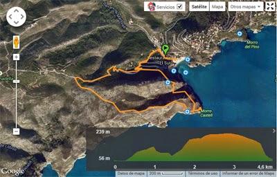 imagen ruta senderista en Wikiloc
