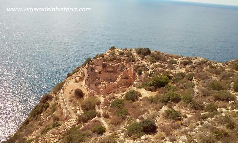 fotografía del Castillo Granadella, Jávea / Xàbia, Alicante