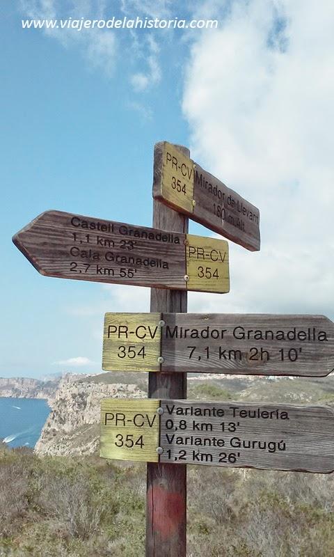 foto Teulería, cala Granadella, Jávea / Xàbia, Alicante