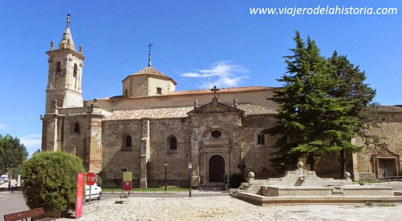 imagen de la iglesia de San Francisco, Molina de Aragón, Guadalajara