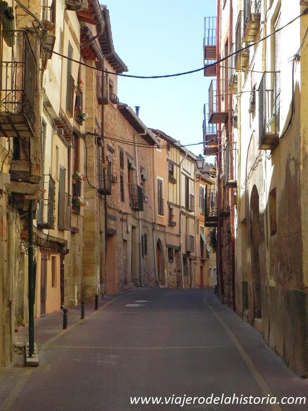imagen del barrio de la Judería, Molina de Aragón, Guadalajara