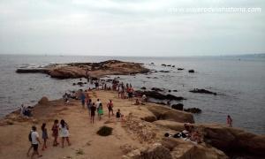 fotografía del islote sur de Tabarca