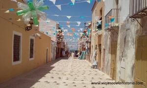 fotografía del pueblo de Tabarca
