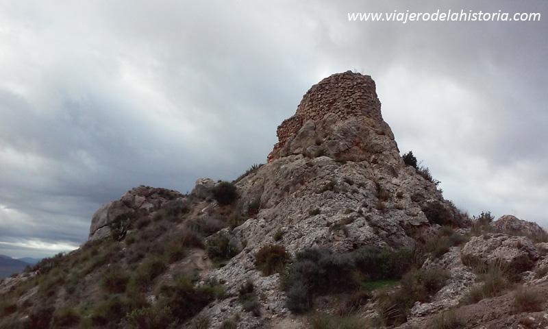 imagen de la torre del Castillo de Salvatierra, Villena