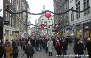 imagen de Calle Strøget en Copenhague, Dinamarca