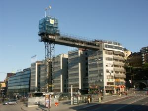 imagen del mirador de Katarinahissen en Slussen, Estocolmo, Suecia