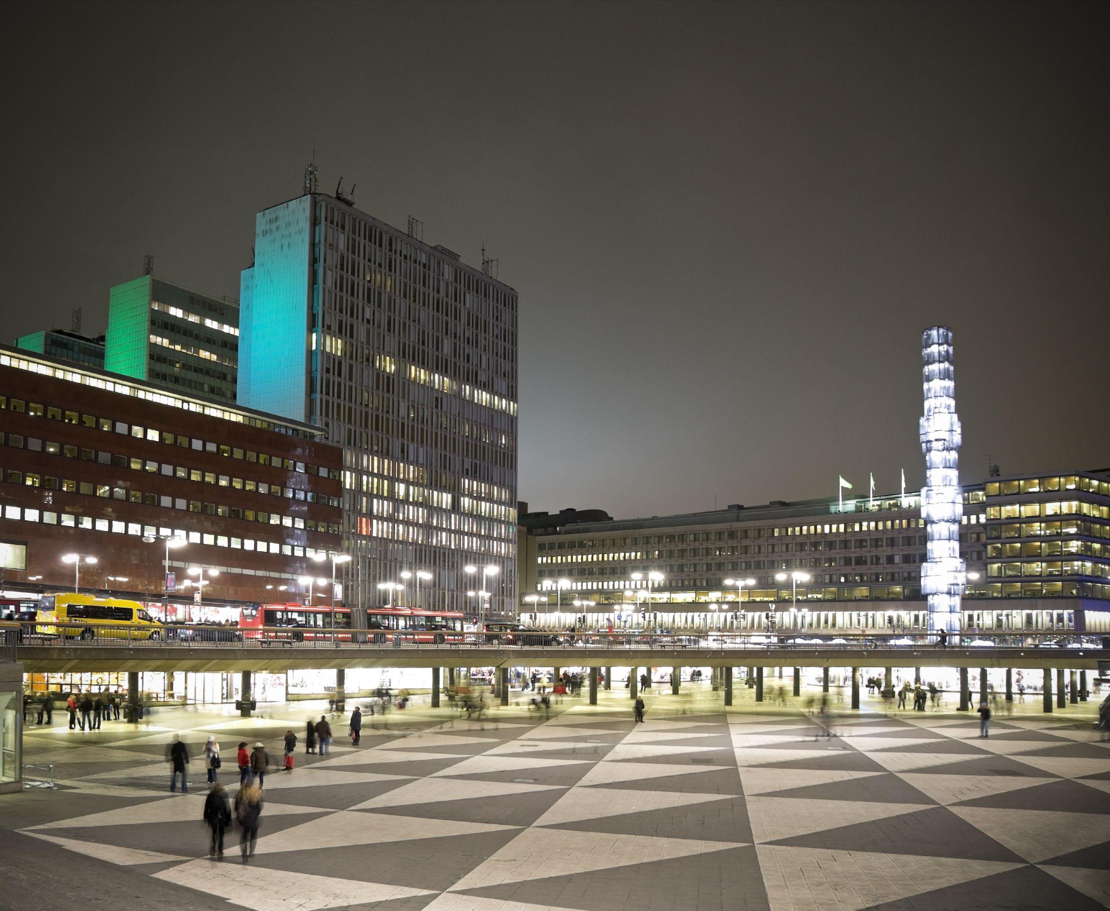 imagen de Sergels Torg, Estocolmo, Suecia