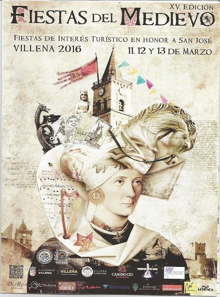 imagen de fiestas del medievo, mercado medieval Villena, Alicante