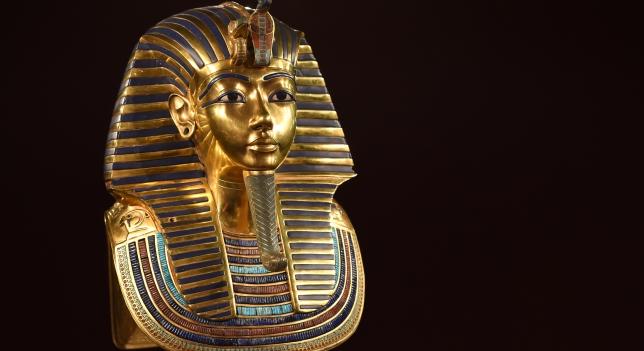 imagen de Máscara funeraria de Tutankhamón